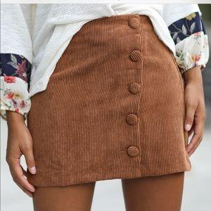 corduroy skirt. brand new